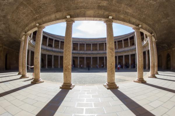 Alhambra Palacio Carlos V Interior